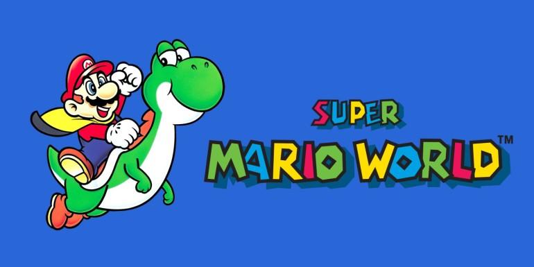 Mario World intro