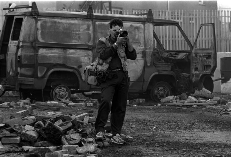 Pacemaker Belfast-archive Photographer Martin Nangle. 12-9-89 1087/89/BW